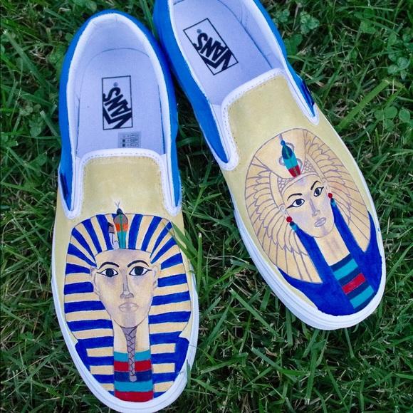 Vans Shoes | Custom Egyptian Pharaoh